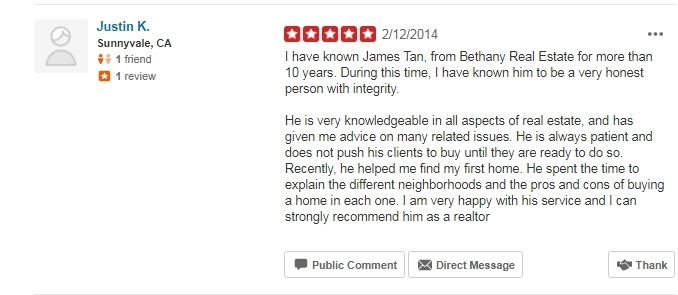 James Tan MBA Broker/Realtor - Bethany Real Estate and Investments - we offer the best service at the lowest commissions - real estate agent in elk grove