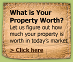 How much is your property worth? Free mortgage calculator