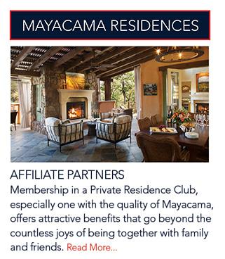 Mayacama Residences