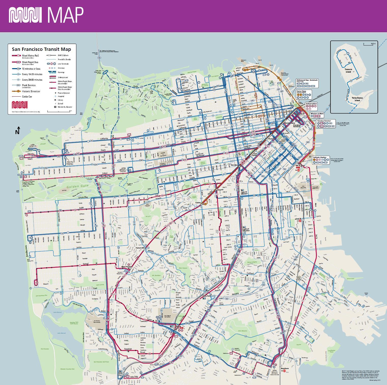MUNI Map